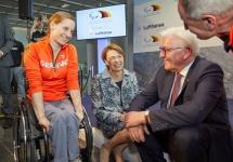 Paralympics: Bild vom Abflug nach Pyeonchang