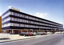 1970: Condor in den 1970er-Jahren. Heute hat der Ferienflieger im Stadtteil Gateway Gardens seinen Firmensitz. (Foto: Condor)