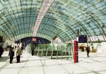 1999: Inbetriebnahme des ICE-Bahnhofs