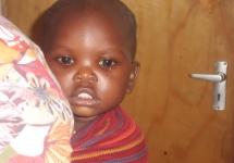 Eine neue Bewohnerin im MCR: die einjährige Bahati.