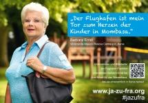 Barbara Ernst über das Majaoni Rescue Centre in Kenia und den Flughafen Frankfurt