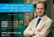 Max Hollein über das Städel und den Flughafen Frankfurt