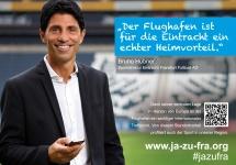 Bruno Hübner über Eintracht Frankfurt und den Flughafen Frankfurt