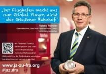 Roland Mandler über die OptoTech GmbH und den Flughafen Frankfurt