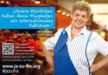 Ilse Schreiber  über die Kleinmarkthalle und den Flughafen Frankfurt